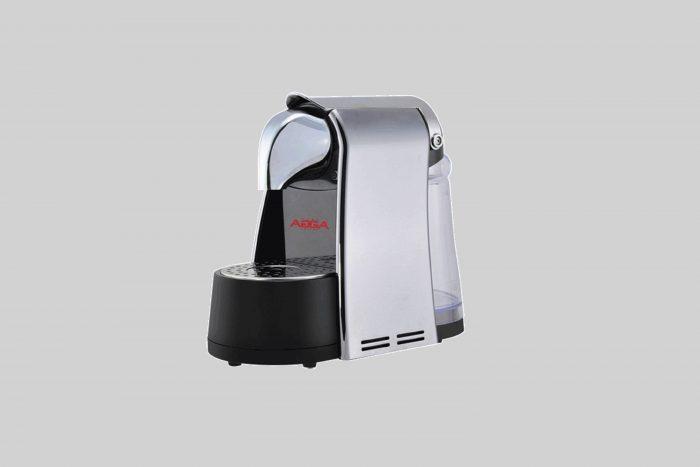 0001326 Espresso Capsule Machine Grey Compatible Nespresso