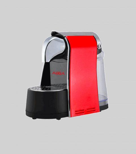 Espresso Capsule Machine Red Compatible Nespresso ®
