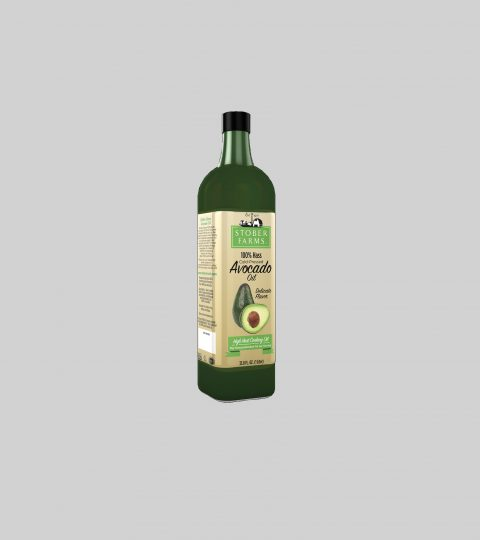 Stober Farms 100% Hass Cold-Pressed Avocado Oil